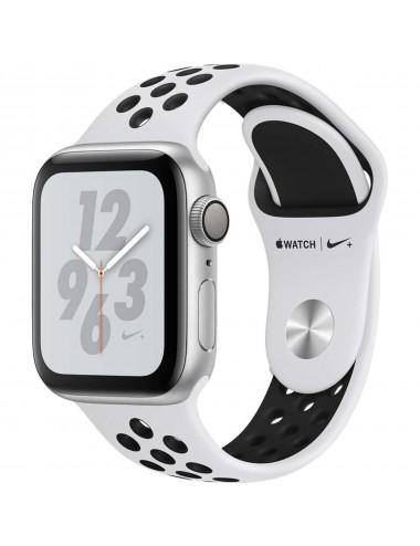 Acc. Bracelet Apple Watch Series 4 16GB silver 40mm Alu black Nike sport loop