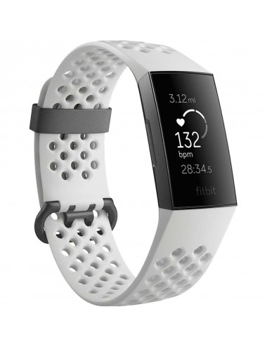 Acc. Bracelet Fitbit Charge 3 Special Edition frost-white-graphite
