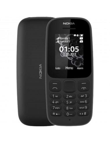 Nokia 105 (2017) Dual-SIM black EU