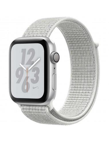 Acc. Bracelet Apple Watch Series 4 16GB silver 40mm Alu white Nike sport loop