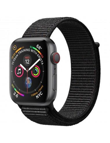 Acc. Bracelet Apple Watch Series 5 32GB black 44mm Alu black sport loop