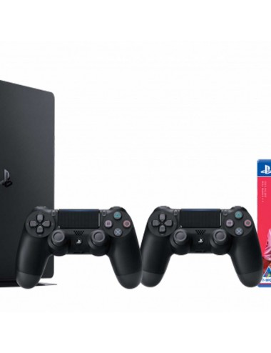Console Playstation 4 Slim 1TB black includes 2nd Controller &  FIFA 20