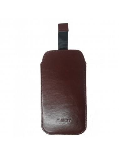 Acc. Cover Cubot X18 leather brown
