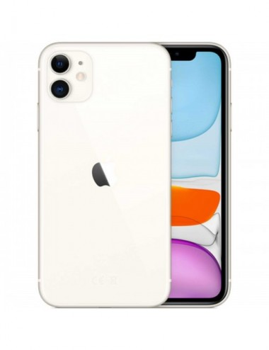 Apple iPhone 11 4G 128GB white EU MWM22__-A