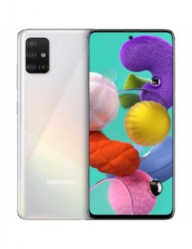 Samsung A515 Galaxy A51 4G 128GB 4GB RAM Dual-SIM prism crush white EU