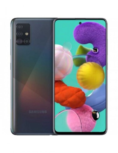 Samsung A515 Galaxy A51 4G 128GB 4GB RAM Dual-SIM prism crush black EU