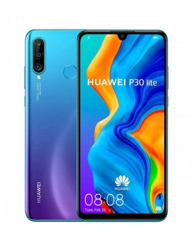 Huawei P30 Lite New Edition Dual Sim 6GB RAM 256GB peacock blue EU