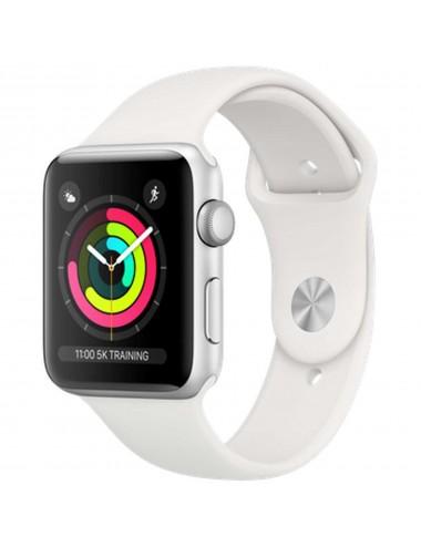 Acc. Bracelet Apple Watch Series 3 8GB silver 42mm white sport band